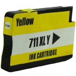 Tinteiro HP 711 Amarelo...