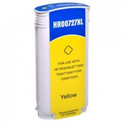 Tinteiro HP 727 Amarelo...